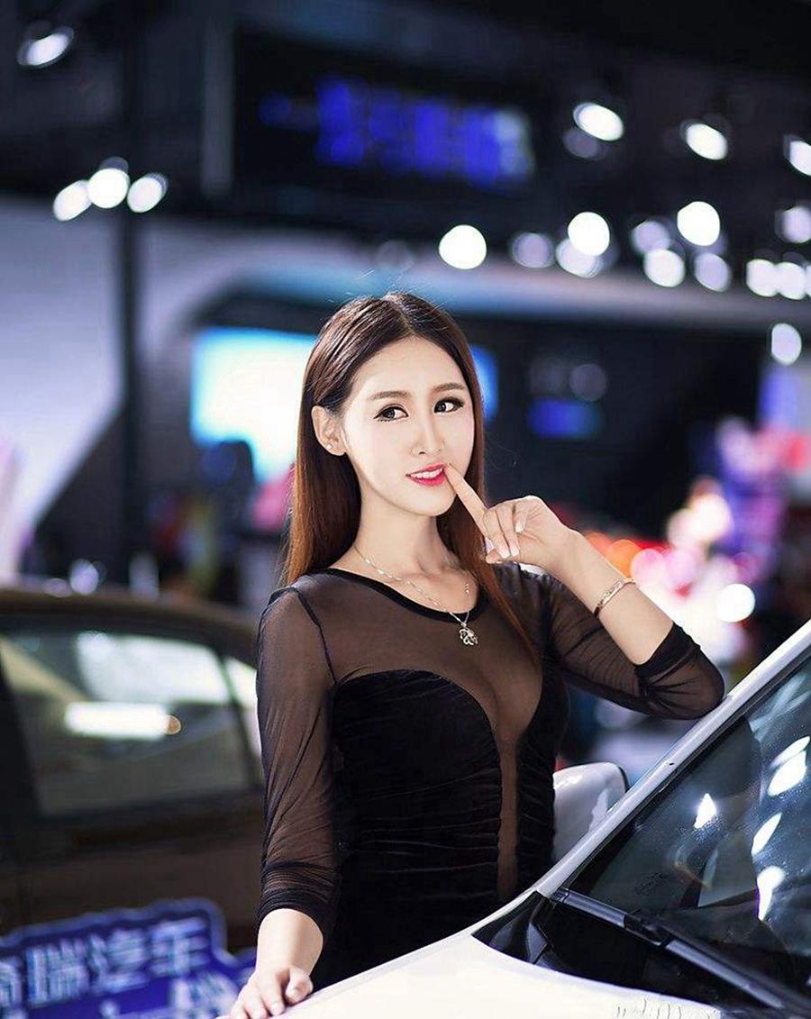 北京车展车模
